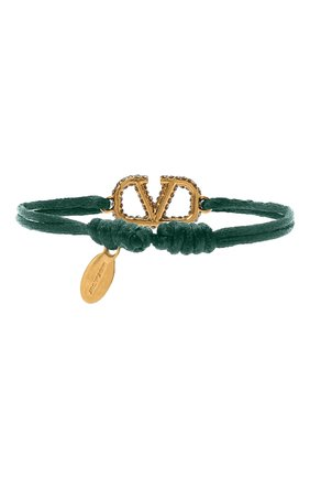 Женский браслет valentino garavani vlogo VALENTINO зеленого цвета, арт. UW2J0F81/YAB | Фото 2