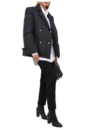 Женский пуховая куртка KHRISJOY черного цвета, арт. BFPW026/NY | Фото 2