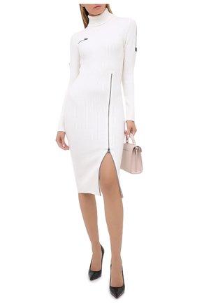 Женское шерстяное платье TOM FORD белого цвета, арт. ACK242-YAX262 | Фото 2