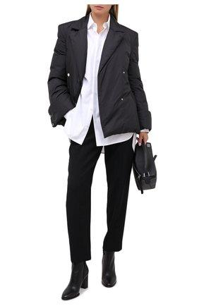 Женские кожаные ботильоны stivaletto elsa LE SILLA черного цвета, арт. 7071R080R3PPBUK | Фото 2
