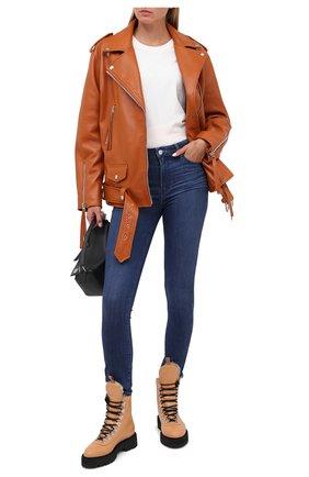 Женские джинсы PAIGE синего цвета, арт. 6488F71-1377 | Фото 2