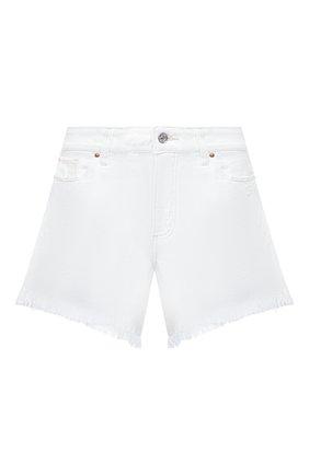Женские джинсовые шорты PAIGE белого цвета, арт. 6462G35-2692 | Фото 1