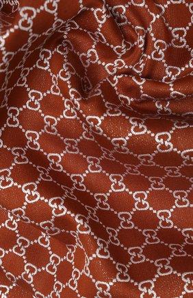 Женская шаль argentavio GUCCI бронзового цвета, арт. 623161/3GF37 | Фото 2