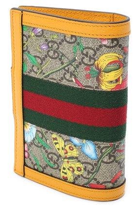 Женские обложка для паспорта ophidia GUCCI разноцветного цвета, арт. 598914/92YBC | Фото 2