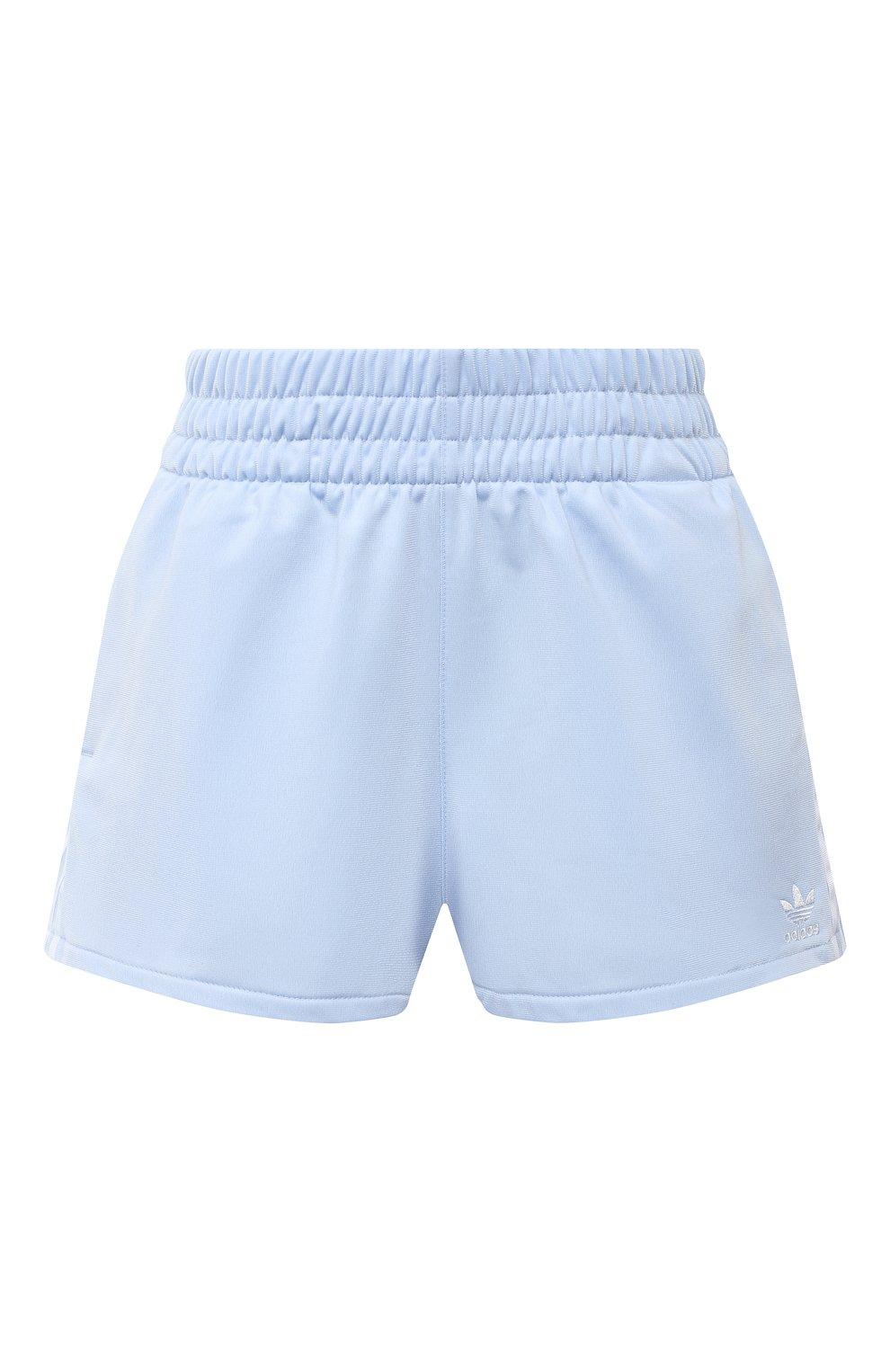 Женские шорты ADIDAS ORIGINALS голубого цвета, арт. FM2611 | Фото 1