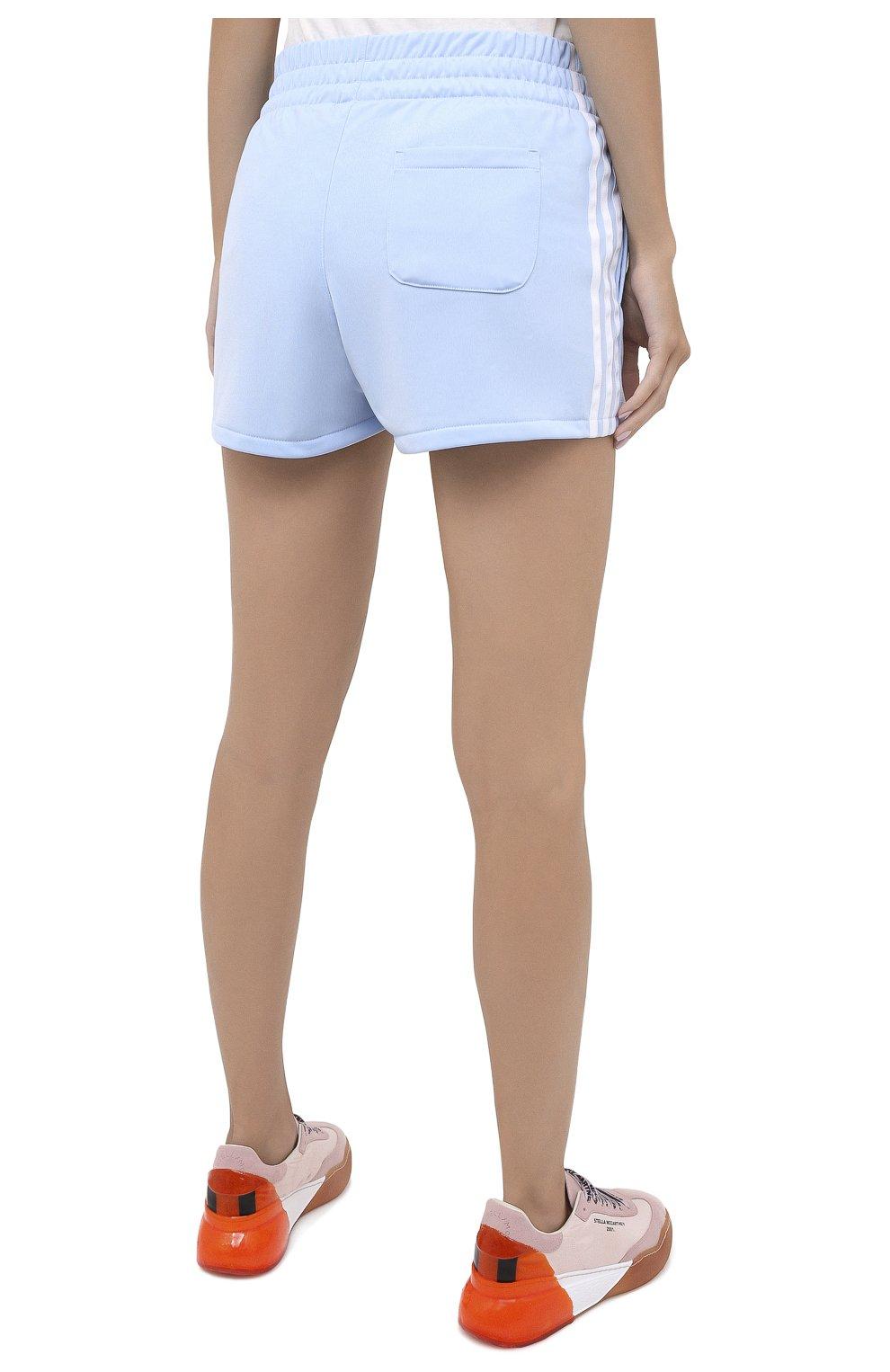 Женские шорты ADIDAS ORIGINALS голубого цвета, арт. FM2611 | Фото 4