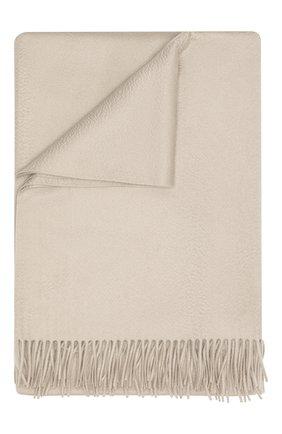 Мужского кашемировый плед LORO PIANA бежевого цвета, арт. FAA1158 | Фото 1