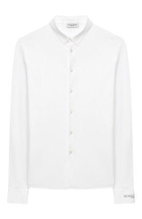 Детская хлопковая рубашка PAOLO PECORA MILANO белого цвета, арт. PP2462/14A-16A | Фото 1