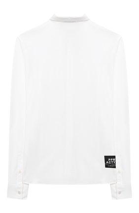Детская хлопковая рубашка PAOLO PECORA MILANO белого цвета, арт. PP2462/14A-16A | Фото 2