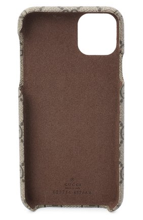 Мужской чехол ophidia для iphone 11 pro max GUCCI бежевого цвета, арт. 625714/K5I0S   Фото 2
