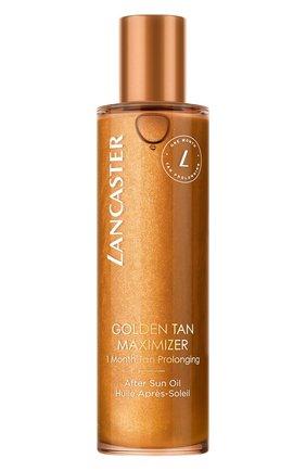 Женского масло для тела после загара golden tan maximizer LANCASTER бесцветного цвета, арт. 3614227913851 | Фото 1
