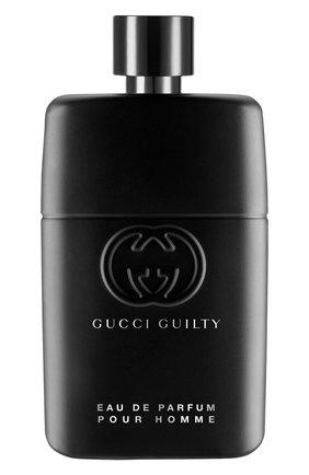 Мужской парфюмерная вода guilty pour homme GUCCI бесцветного цвета, арт. 3614229382129 | Фото 1