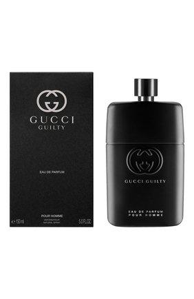 Мужской парфюмерная вода guilty pour homme GUCCI бесцветного цвета, арт. 3614229382167 | Фото 2