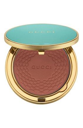 Женская бронзирующая пудра poudre de beauté éclat solei, 5 GUCCI бесцветного цвета, арт. 3616301290407 | Фото 1