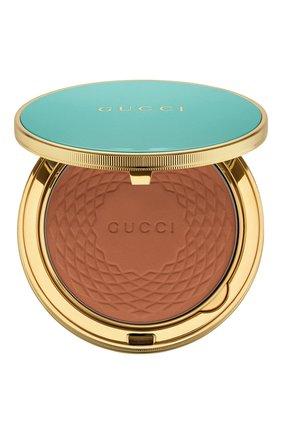 Женская бронзирующая пудра poudre de beauté éclat solei, 4 GUCCI бесцветного цвета, арт. 3616301290421 | Фото 1