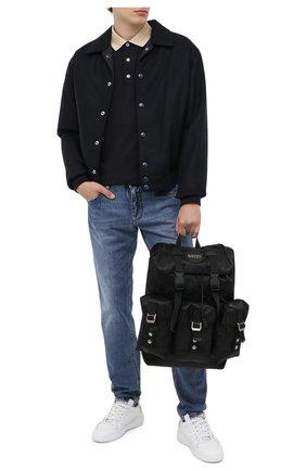 Мужской текстильный рюкзак off the grid GUCCI черного цвета, арт. 626160/H9HFN | Фото 2