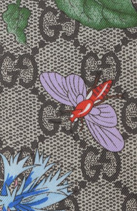 Женский шелковый шарф-бандо GUCCI разноцветного цвета, арт. 609317/3G001   Фото 2