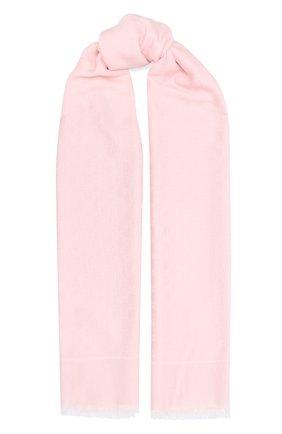 Женская шаль GUCCI розового цвета, арт. 631416/3GF71 | Фото 1