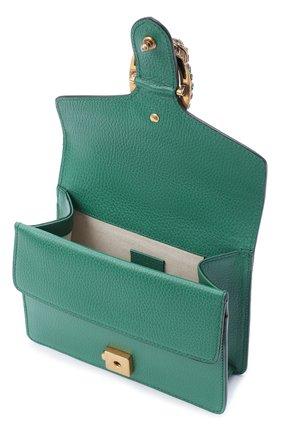 Женская сумка dionysus mini GUCCI зеленого цвета, арт. 421970/CA0GX   Фото 4