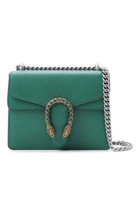 Женская сумка dionysus mini GUCCI зеленого цвета, арт. 421970/CA0GX   Фото 5