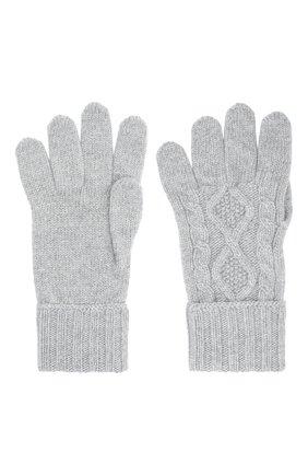Мужские кашемировые перчатки JOHNSTONS OF ELGIN серого цвета, арт. HAY02852 | Фото 2