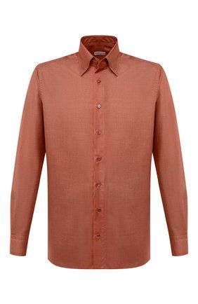 Мужская сорочка из кашемира и шелка ZILLI красного цвета, арт. MFU-00503-87060/0001   Фото 1