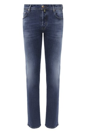 Мужские джинсы JACOB COHEN синего цвета, арт. J688 C0MF TA 01127-W4/54 | Фото 1