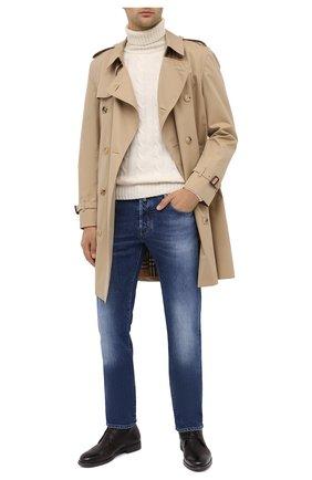 Мужские джинсы JACOB COHEN синего цвета, арт. J688 C0MF TA 01127-W4/54 | Фото 2