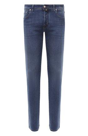 Мужские джинсы JACOB COHEN синего цвета, арт. J688 C0MF 08364-W3/54 | Фото 1