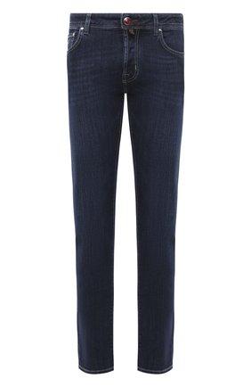 Мужские джинсы JACOB COHEN синего цвета, арт. J688 C0MF 00709-W2/54 | Фото 1