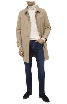 Мужские джинсы JACOB COHEN синего цвета, арт. J688 C0MF 00709-W2/54 | Фото 2