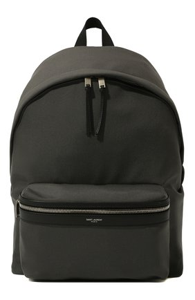 Мужской текстильный рюкзак city SAINT LAURENT серого цвета, арт. 534967/GIV3F | Фото 1