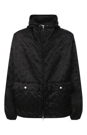 Мужская куртка GUCCI черного цвета, арт. 631105/ZAEBN | Фото 1