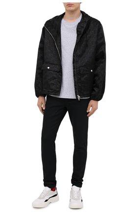 Мужская куртка GUCCI черного цвета, арт. 631105/ZAEBN | Фото 2