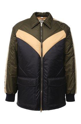 Мужская утепленная куртка GUCCI разноцветного цвета, арт. 624421/ZHA58 | Фото 1