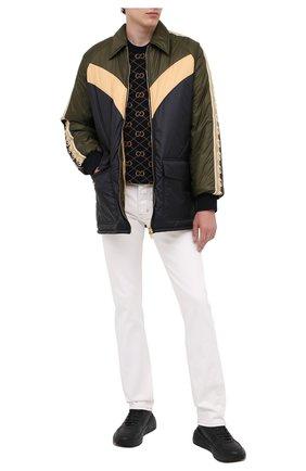 Мужская утепленная куртка GUCCI разноцветного цвета, арт. 624421/ZHA58 | Фото 2