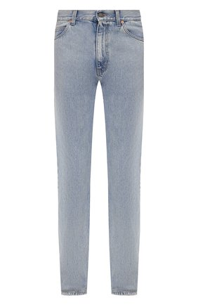 Мужские джинсы GUCCI голубого цвета, арт. 623953/XDBCB | Фото 1