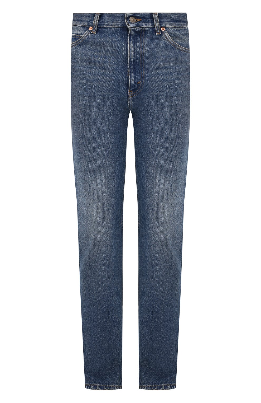 Мужские джинсы GUCCI синего цвета, арт. 623953/XDBBQ | Фото 1