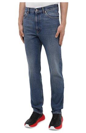 Мужские джинсы GUCCI синего цвета, арт. 623953/XDBBQ | Фото 3