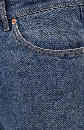 Мужские джинсы GUCCI синего цвета, арт. 623953/XDBBQ | Фото 5