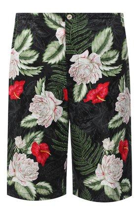 Мужские шорты из вискозы и шелка GUCCI разноцветного цвета, арт. 619073/ZAEMQ | Фото 1