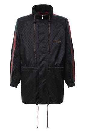 Мужская куртка GUCCI черного цвета, арт. 618891/ZAENY | Фото 1