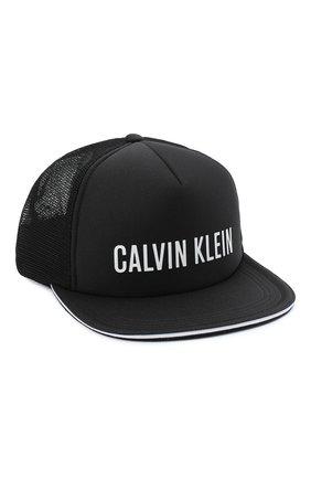 Мужской бейсболка CALVIN KLEIN черного цвета, арт. KU0KU00056 | Фото 1