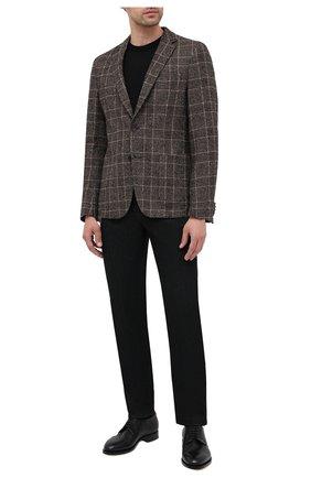 Мужской пиджак BOSS коричневого цвета, арт. 50438488 | Фото 2