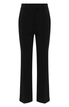 Женские брюки GUCCI черного цвета, арт. 610947/ZKR01 | Фото 1