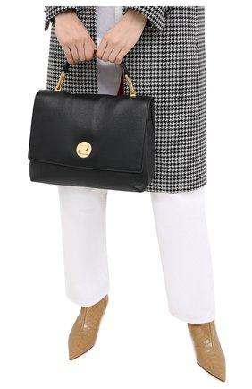 Женская сумка liya medium COCCINELLE черного цвета, арт. E1 GD0 18 01 01 | Фото 2