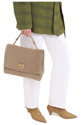 Женская сумка liya medium COCCINELLE бежевого цвета, арт. E1 GD1 18 01 01 | Фото 2