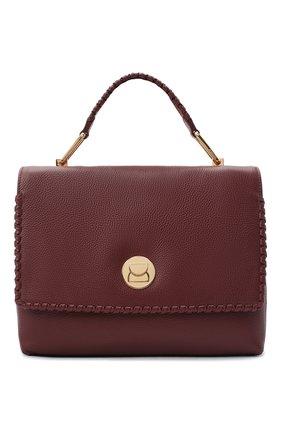 Женская сумка liya medium COCCINELLE бордового цвета, арт. E1 GD3 18 01 01 | Фото 1