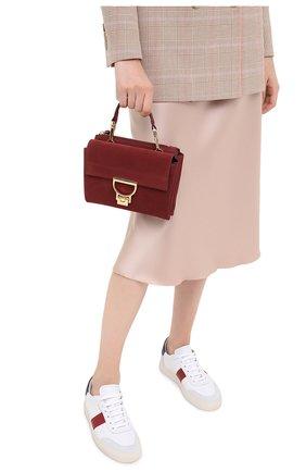 Женская сумка arlettis small COCCINELLE бордового цвета, арт. E1 GD6 55 B7 01 | Фото 2