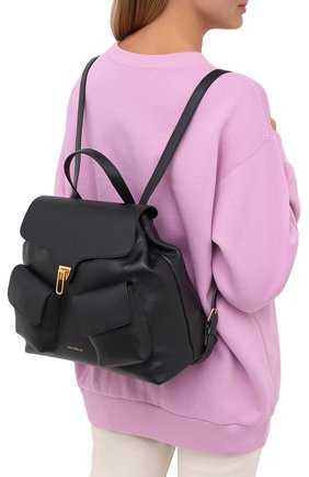 Женский рюкзак beat soft medium COCCINELLE черного цвета, арт. E1 GF6 14 01 01 | Фото 2